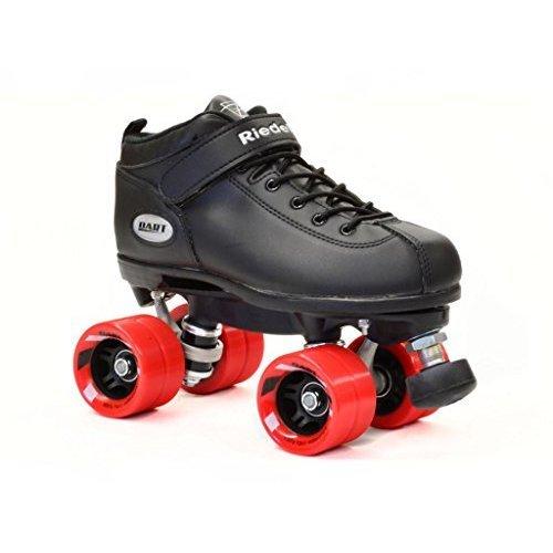 Riedell Skates Dart Roller Skate,Black,11