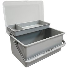 Large Hobby Craft Fishing Multipurpose Storage Box with Handle - Grey