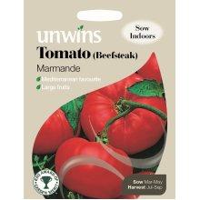 Unwins Pictorial Packet - Tomato (Beefsteak) Marmande - 70 Seeds