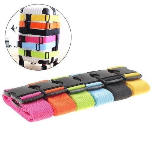 IPRee™ 185x5CM Adjustable Suitcase Luggage Strap Travel Baggage Tie Down Belt Lock