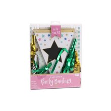 Star Party Customisable Bunting - 14 Flags and Pen
