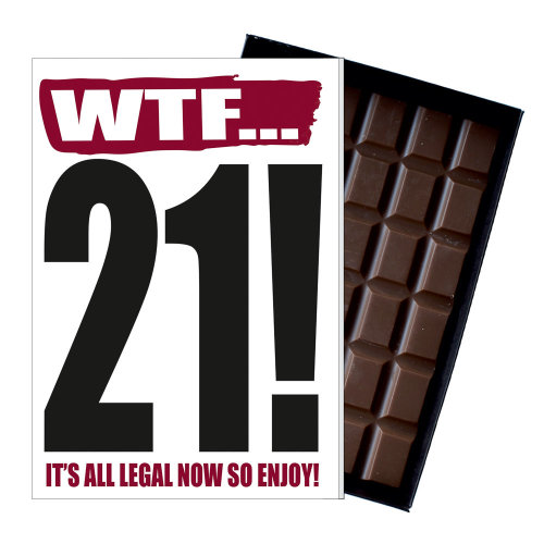 Funny 21st Birthday Gift Rude Naughty Present For Him Or Her 85g Chocolate Card On OnBuy