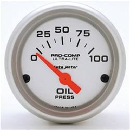 AUTO METER 4327 2.06 In. Mini Ultra Oil Pressure 0-100 Psi