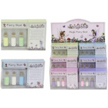 Magical Fairy Dust Pack Of 3 Bottles Fairyland Coloured Glitter Party Gift