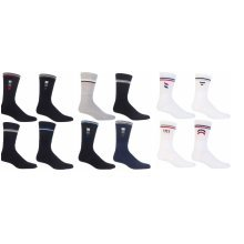 MEN'S BIG FOOT CLASSIC SPORTS SOCKS SIZE 11-13.5 PACK OF 6 PAIRS