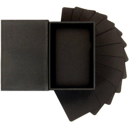 "Prima Marketing Altered Atc Card Set 2.25""X3.5""-Black"
