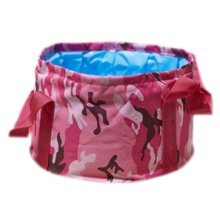 15L Portable Folding Wash Basin Leak-proof Foldable Bucket Footbath Basin with Carrying Pouch #11