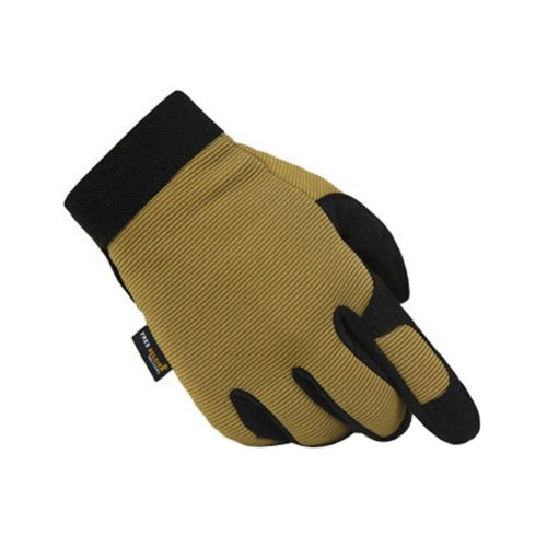 Wear-resistant Antiskid Rock Climbing Hunting Gloves BROWN, L