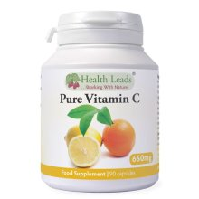 Pure Vitamin C 600mg x 90 capsules