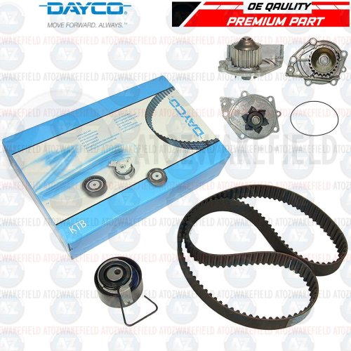 FOR MG ZT-T 1.8i T 16V 2003-2005 TIMING CAM BELT TENSIONER WATER PUMP KIT SET