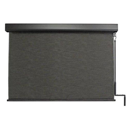 Keystone Fabrics E70.48.60 Exterior Crank Sunshade with Valance, Kona - 48 x 96 in.