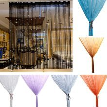 Glitter Crystal Balls Tassel String Line Door Window Curtain Room Divider Screen Decor