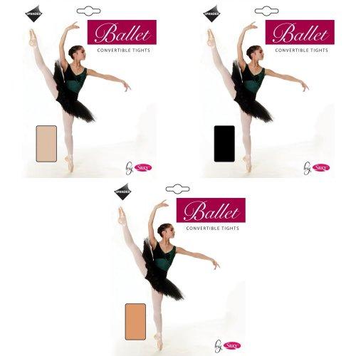 Silky Girls Dance Ballet Tights Convertible (1 Pair)