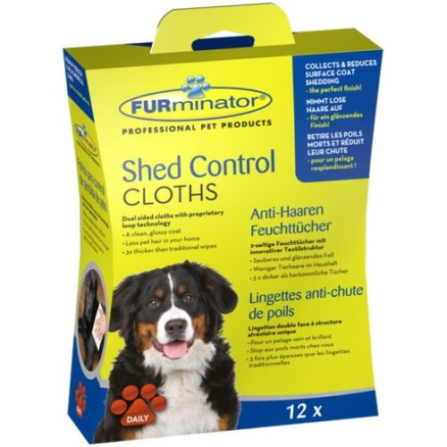 Furminator Shed Control Cloths For Dogs (Pack of 6)
