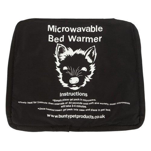 Bunty Microwaveable Dog Bed Warmer | Gel Pet Bed Heating Pad