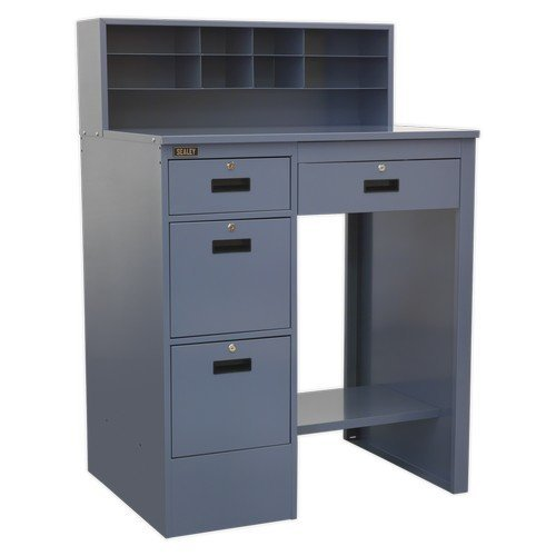 Sealey AP990 Industrial Workstation 4 Drawer - Grey