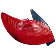 Peugeot 206 3 Door Hatchback  1998-2003 Rear Lamp  Passenger Side L