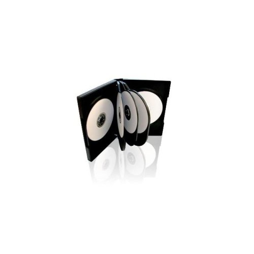 Other CD/DVD Case With Black Tray Holds 12 Discs Pack1