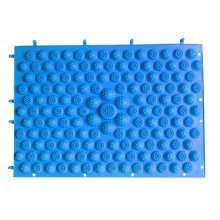 Set of 2 Foot Massager Therapy Mat Foot Massage Pad Shiatsu Sheet [Blue]