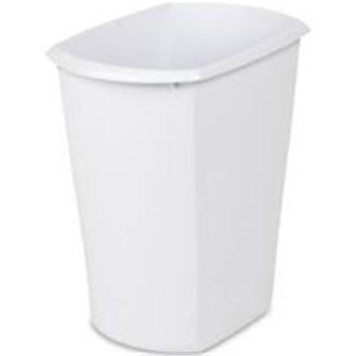 Wastebasket Rect Wht 3 Gal 10518006 Pack Of 6