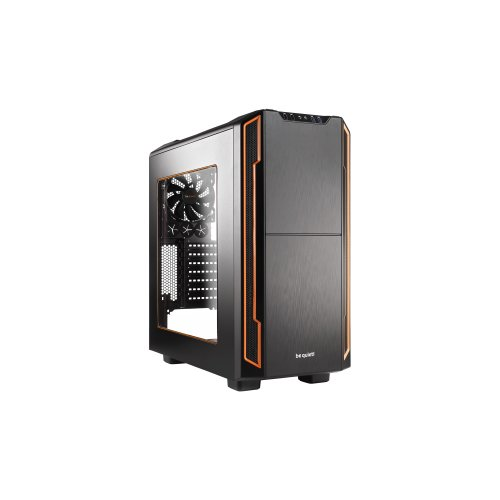 Be Quiet! Silent Base 600 Orange,black Computer Case