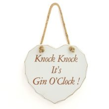 It's Gin 'O' Clock Plaque