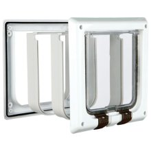 TRIXIE 4 Way Cat Flap 21x21 cm White 38641