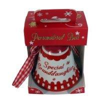 Special Teacher Red Christmas Bell