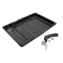 Hotpoint Universal Grill Pan Assembly - 380 x 280 mm