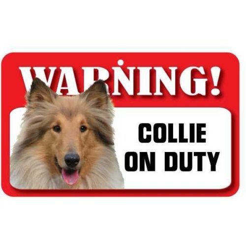 Collie Pet Sign