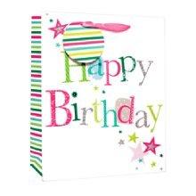 Simon Elvin Foil Small Gift Bags - Font Birthday Female -  simon elvin foil small gift bags font birthday female