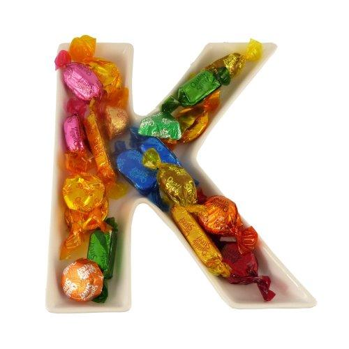 K Alphabet Dish