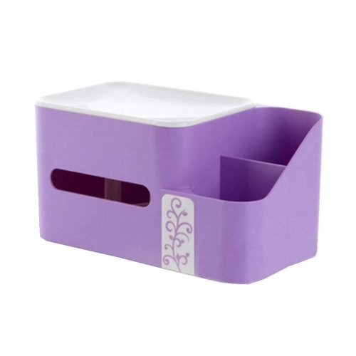 Lovely Elegant PP Toilet Paper Tissue Box Paper Holder Tissue Holders,Purple