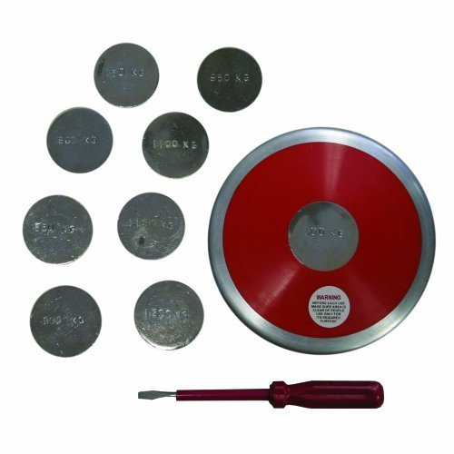 Amber Athletic Gear Training Discus, 0.850 – 1.200 Kg