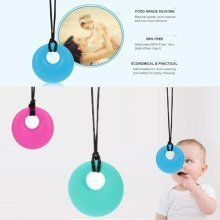 Silicone Chew Necklace Teether Autism Soother
