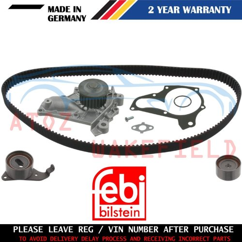 FOR TOYOTA RAV 4 2.0 TIMING CAM BELT WATER PUMP KIT FEBI GERMANY 1994-2000