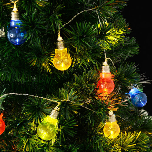 Christmas Led.30 Led 6 1m Led Bulb String Fairy Lights Christmas