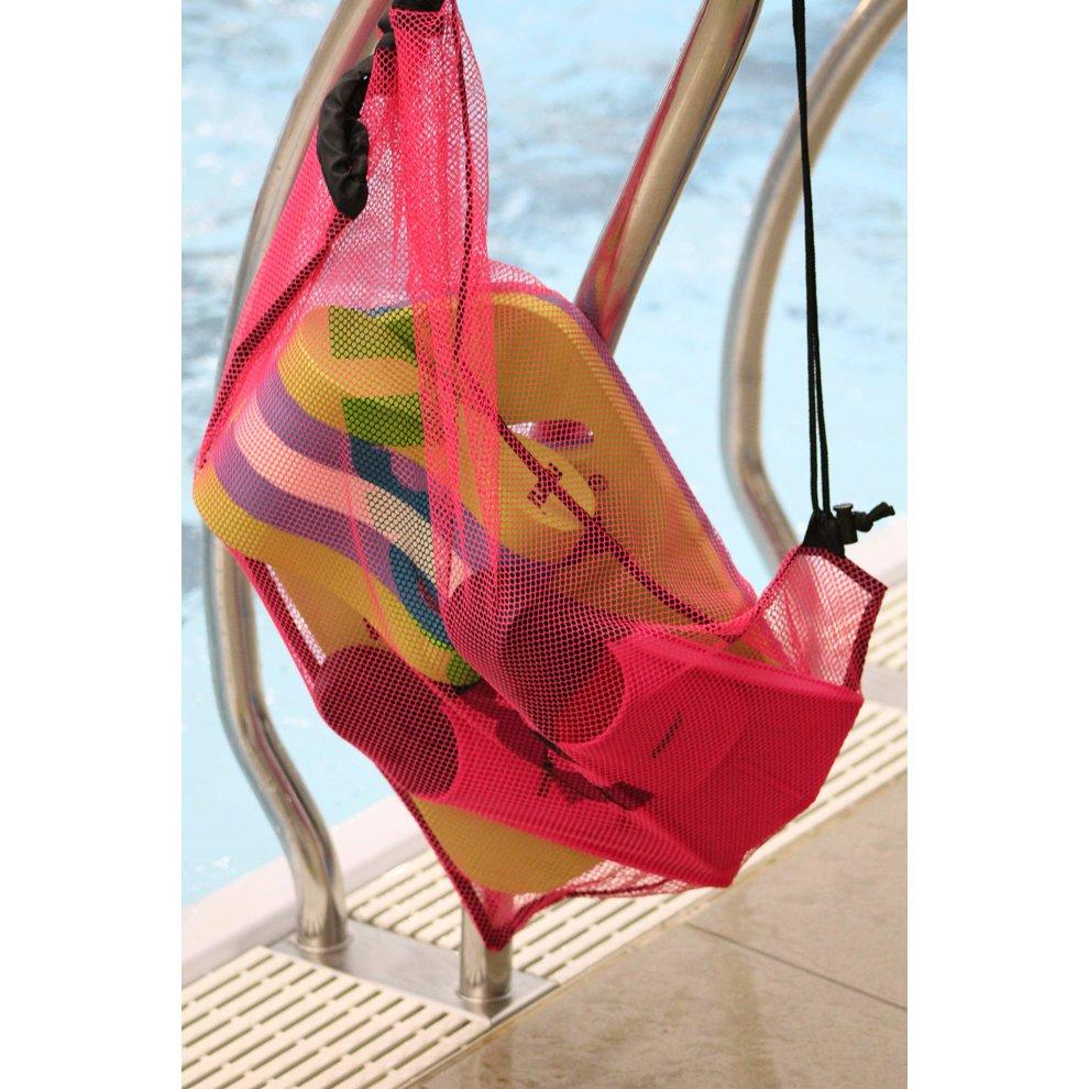 Maru Mesh Drawstring Swim Kit Bag