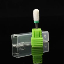 Green Ceramic Nail Drill Bits Coarsely Ground Grain Nails Polish Head Manicure Tool