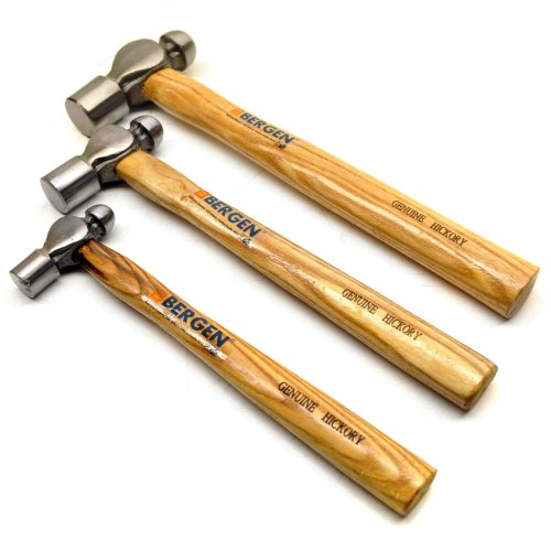 3pc Ball Pein Hammer Professional Set by BERGEN AT205