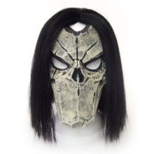 Darksiders 2 Unisex Death Character Face Cosplay Latex Mask Mulit-Colour