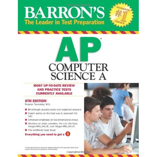 Barron's AP Computer Science A, 6th Edition