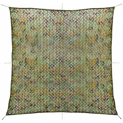 vidaXL Camouflage Netting with Storage Bag 4x4 m