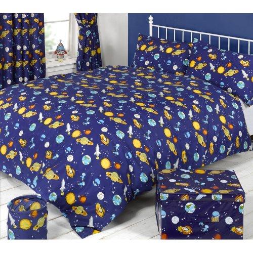 Mucky Fingers Childrens Spaceman Duvet Cover Bedding Set