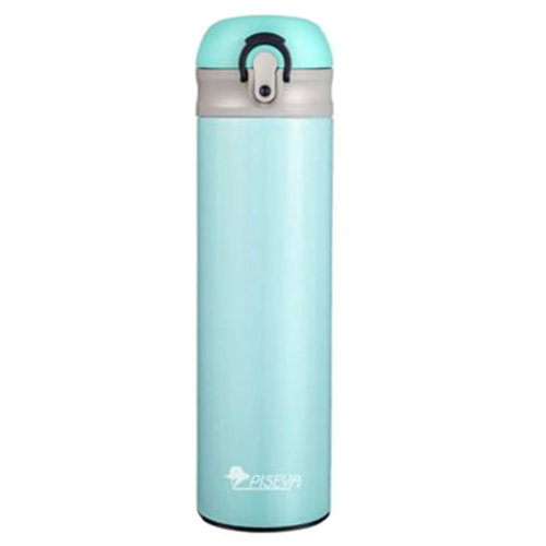 Premium Water Bottle Hot Water Stainless Steel Cup Vacuum Insulated, 500ml, F