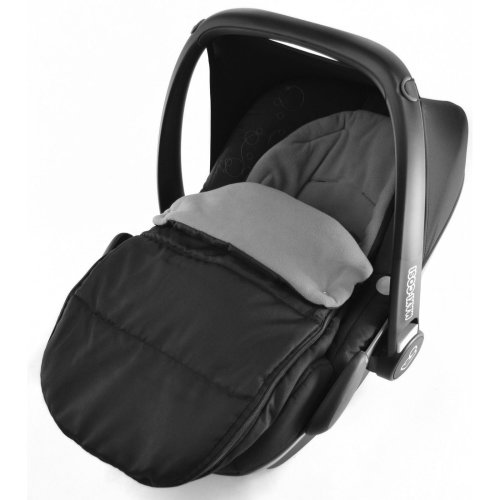 Car Seat Footmuff / Cosy Toes Compatible with Maxi Cosi Pebble Dolphin Grey