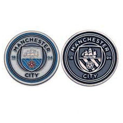 Manchester City FC Official Football Crest Golf Ball Marker