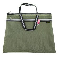 Oxford Leisure Conference Document Bag Laptop Bag Briefcase (30.5 x 36.8cm)GREEN