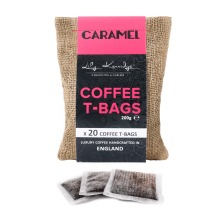 20pc Lily Kerridge Coffee Caramel Coffee T-Bags | Caramel-Flavoured Coffee