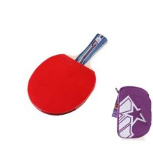 A2006 Table Tennis Racket/Paddle with Cover Ping Pong Racket Shakehand
